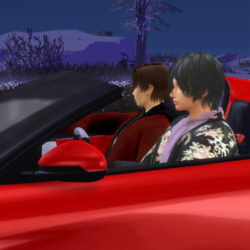 太輔さん温泉に母親が急遽参加・・みっくんが緊張してる・・あれ?一緒にドライブしてた相手ってまさか(*ˊ艸`*)