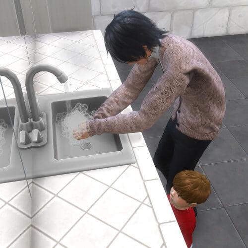みっくんCM出演おめでとうございます(*≧∀≦)手洗い動画の「Wash Your Hands」見てしまう~可愛い~(*ˊ艸`*)
