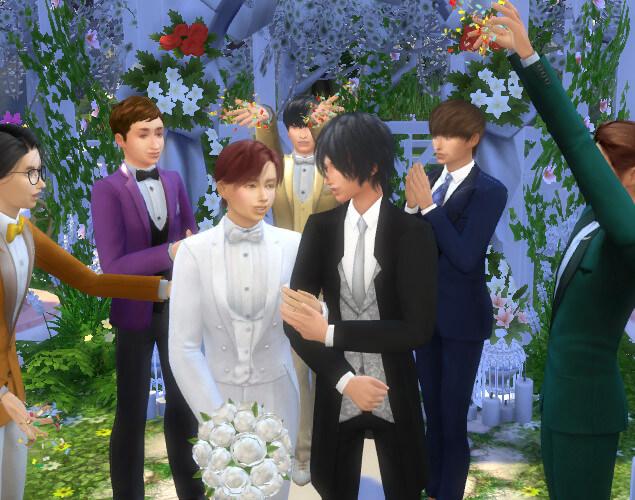千ちゃん復帰!良かった~(*ˊ▽ ` *)11/22【いい夫婦の日】に、うちのFKちゃん結婚しましたー(*ˊ艸`*)w